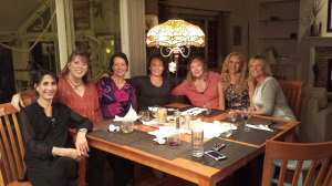 Playgroup moms, together again!