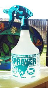 Miller's spray bottle