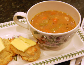 cottage bean soup